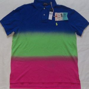 POLO Ralph Lauren Dip Dyed Short Sleeve Shirt L